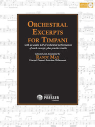 Orchestral Excerpts for Timpani