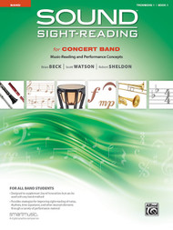 Sound Sight-Reading for Concert Band, Book 1 - Trombone 1