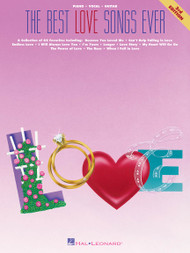The Best Love Songs Ever (3rd Edition) - Piano / Vocal / Guitar