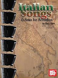 Italian Songs and Arias for Accordion - Gary Dahl