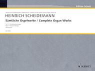 Heinrich Scheidemann - Complete Organ Works - Part 1: Chorale Settings (Beckmann) (Schott Edition) - Organ Songbook
