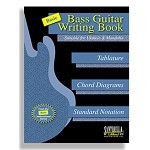 Basic Bass Guitar Writing Book (Suitable for Ukulele & Mandolin)