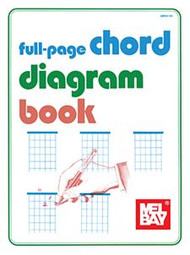 Full-Page Chord Diagram Book by Mel Bay