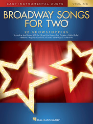 Broadway Songs for Two - Violin Duet