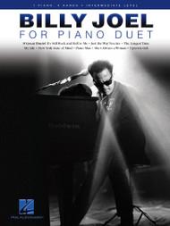 Billy Joel for Piano Duet - Intermediate Level