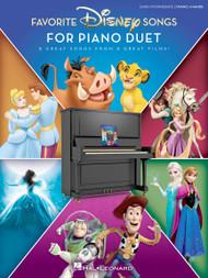 Favorite Disney Songs for Piano Duet - Early Intermediate 1P4H