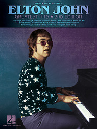 Elton John Greatest Hits (2nd Edition) - Piano/Vocal/Guitar