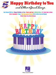 Happy Birthday to You and Other Great Songs for 5-Finger Piano