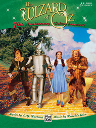 The Wizard of Oz 70th Anniversary Deluxe Songbook for 5-Finger Piano