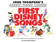 John Thompson's Easiest Piano Course - First Disney Songs in Big-Note Piano