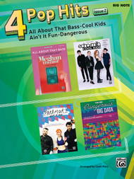 4 Pop Hits, Issue 2 in Big-Note Piano