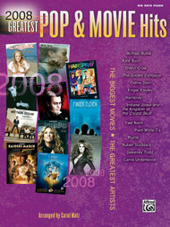 2008 Greatest Pop & Movie Hits in Big-Note Piano