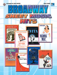Broadway Sheet Music Hits for Easy Piano