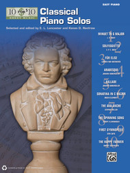 10 for 10 Sheet Music: Classical Piano Solos for Easy Piano