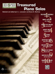 10 for 10 Sheet Music: Treasured Piano Solos for Intermediate to Advanced Piano