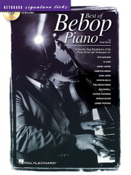 Keyboard Signature Ticks: Best of Bebop Piano (Book/CD Set) for Intermediate to Advanced Piano/Keyboard