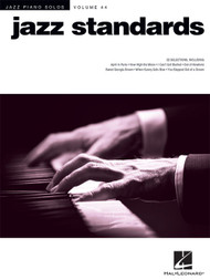 Jazz Piano Solos Volume 44 - Jazz Standards for Intermediate to Advanced Piano