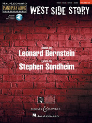 Hal Leonard Piano Play-Along Volume 130 - West Side Story (with Audio Access) for Piano / Vocal / Guitar