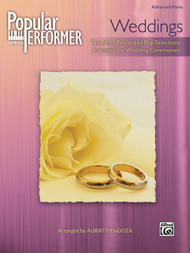 Popular Performer Series: Weddings for Advanced Piano
