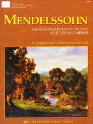 Mendelssohn - Selected Songs Without Words: Scherzo in E Minor (Kjos) for Intermediate to Advanced Piano