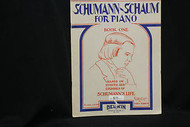 Schumann-Schaum for Piano, Book 1 for Intermediate Piano