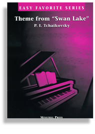 Tchaikovsky - Theme from 'Swan Lake' Single Sheet (Easy Favorite Series) for Easy Piano