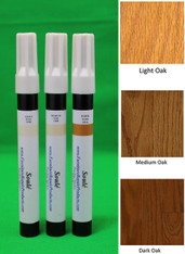 Oak - A Set of Furniture Touch Up Markers System - 3 markers