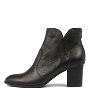 DAYZETTE Ankle Boots in Black Leather