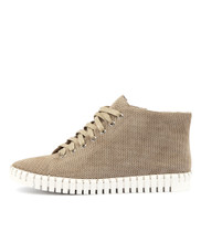 HAYWARD Lace-up Sneakers in Donkey Suede