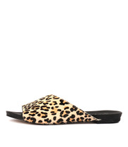 JERICA Sandals in Ocelot Pony Hair