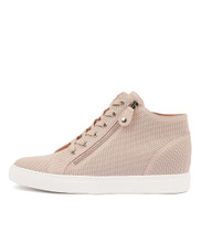 GIAZZA Sneakers in Pale Pink Leather
