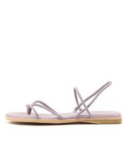 TENJI Sandals in Lilac Suede