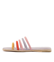 TATALY Sandals in Bright Multi Suede