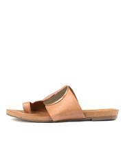 JADONS Sandals in Dark Tan Leather