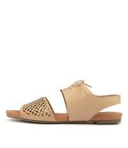 JABILA Sandals in Latte Leather