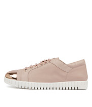 HARA Sneakers in Rose Gold Leather