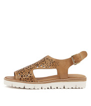 TRICILLY Sandals in Tan Leather