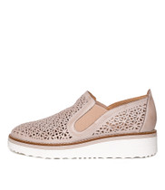 PUGLIA Flats in Nude Leather