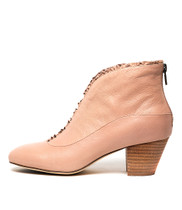 HEMERA Ankle Boots in Nude Leather