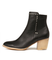 BRISTING Ankle Boots in Black Leather