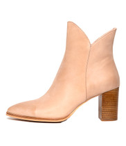ASTRONOMY Ankle Boots in Nude Leather