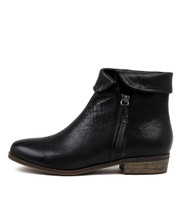 SHARDEYS Ankle Boots in Black Leather