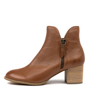 SHIANNELY Ankle Boots in Cognac Leather