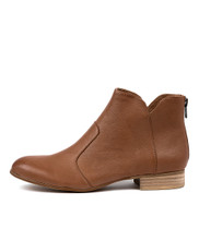 FRONIA Ankle Boots in Cognac Leather