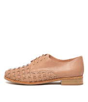 ALVERO Flats in Nude Leather