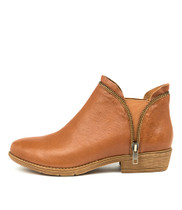 RUBEE Ankle Boot Tan Leather
