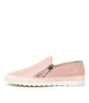 VENESSA Flats in Pale Pink Leather