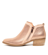 CARYL in Nude & Rose Gold Leather