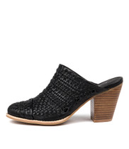 CLAUS Black Natural Heel Leather