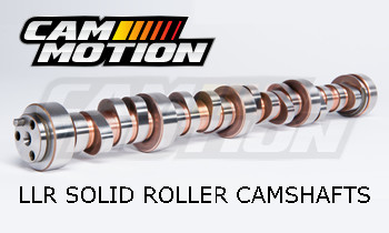 "Race Day LS LLR Camshaft (249/257-108+4) for LS ""Single Plane"" Cathedral Port"